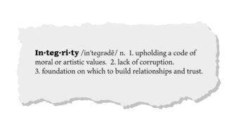 How Does Your Integrity Affect The Lives Of Others?